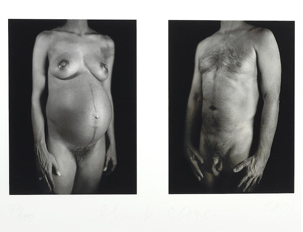 Chuck Close-Untitled, from Doctors of the World-2001