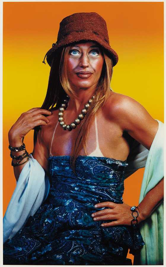 Cindy Sherman-Untitled (Self-Portrait with Sun Tan)-2003