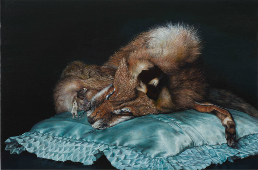 photorealistic painting by cindy wright