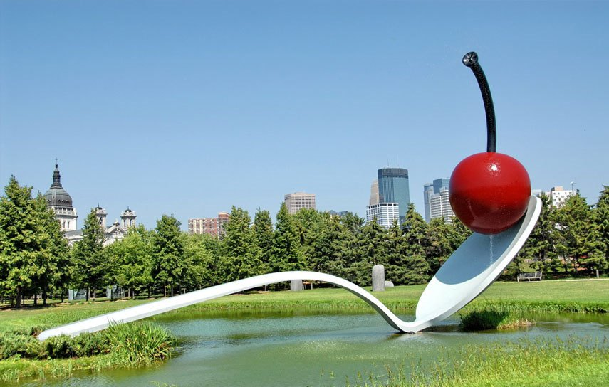 Clear Table And Chairs : Claes Oldenburg E28093 Spoonbridge and Cherry via facemepls from tehroony.com size 855 x 544 jpeg 93kB