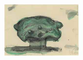 Claes Oldenburg-Study for a Garden Sculpture in the Form of a Soft Typewriter-1972