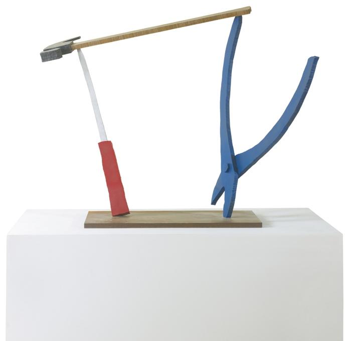 Coosje Van Bruggen-Claes Oldenburg-Claes Oldenburg and Coosje Van Bruggen - Balancing Tools Model-1984