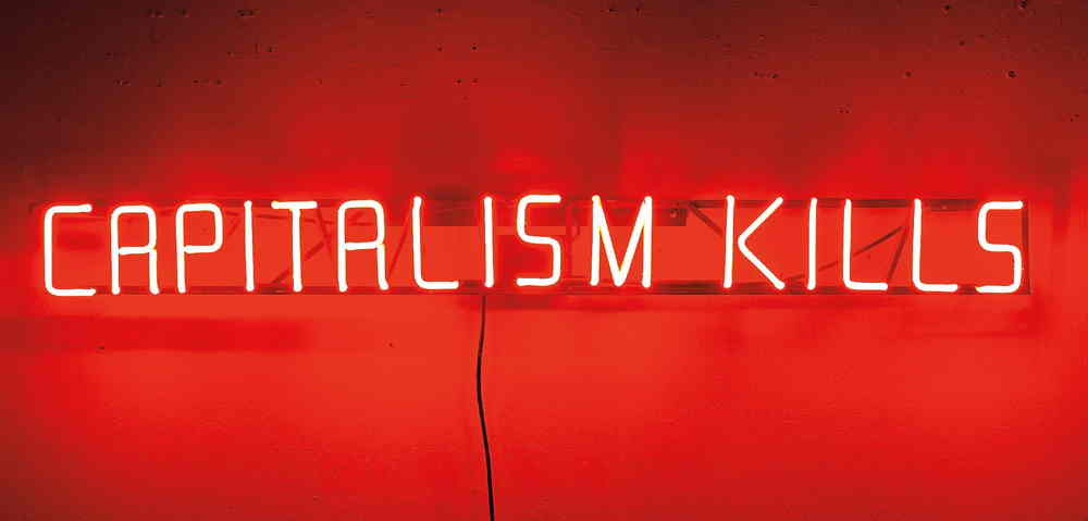 Claire Fontaine-Capitalism Kills-2008