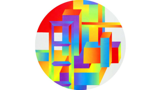 Clark Goolsby - Rainbow Variation X, 2015
