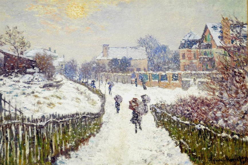 Famous Winter Paintings to Announce the Holiday Mood ...