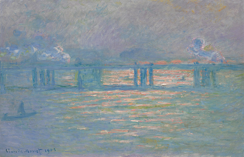 Claude Monet - Charing Cross Bridge, 1903