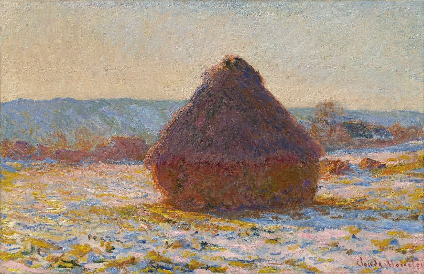 Claude Monet - Grainstack in the Sunlight