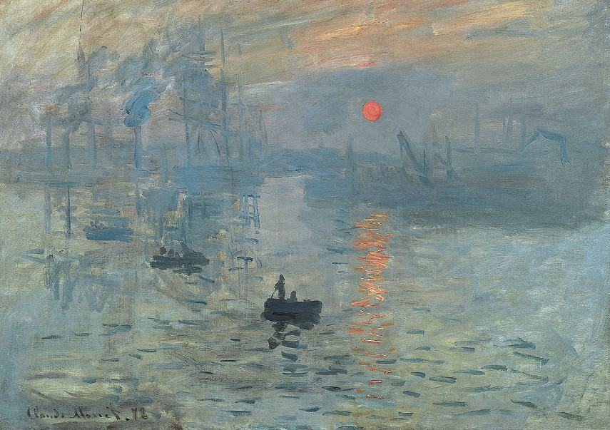 Claude Monet - Impression, Sunrise, 1872