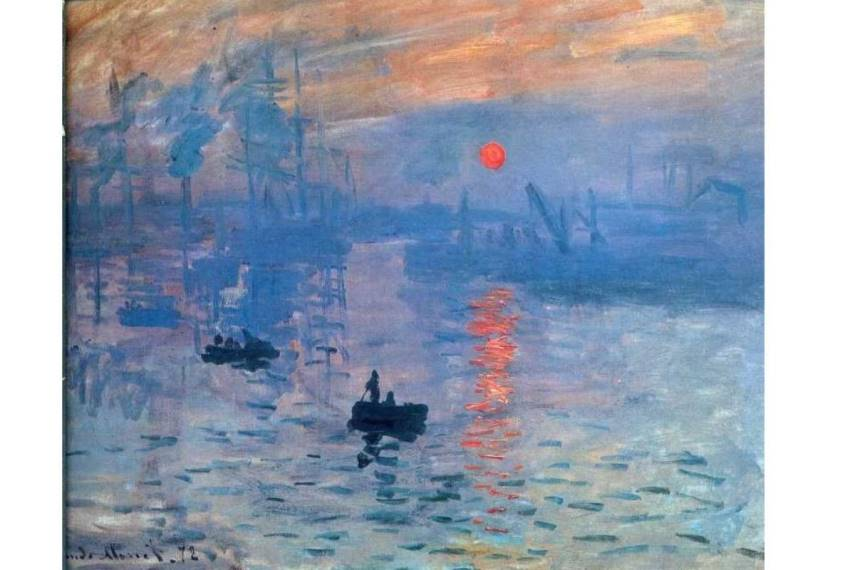 Claude Monet Impression, Sunrise, 1872