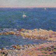 Claude Monet - La Mediterranee Par Vent De Mistral, 1888 (Detail)