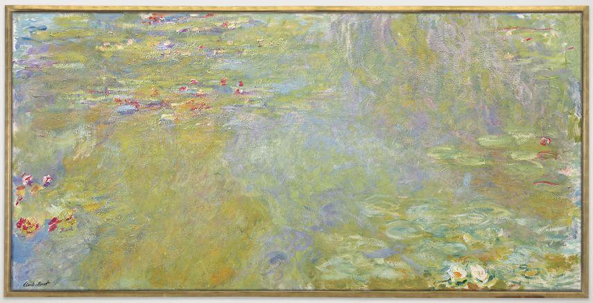 Claude Monet - Le bassin aux nymphéas, 1919