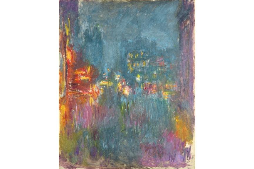 Claude Monet - Leicester Square, la nuit