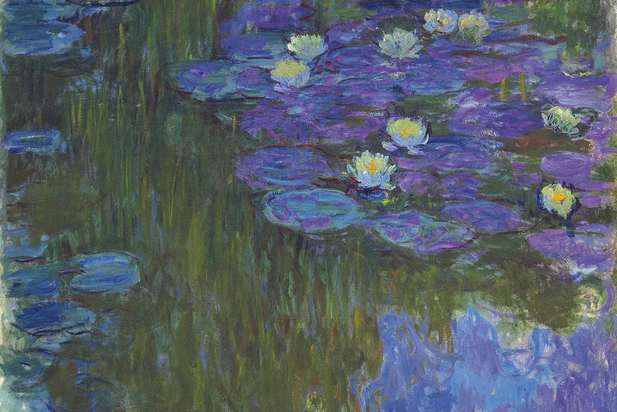 Claude Monet - Nymphéas en fleur, 1914-1917