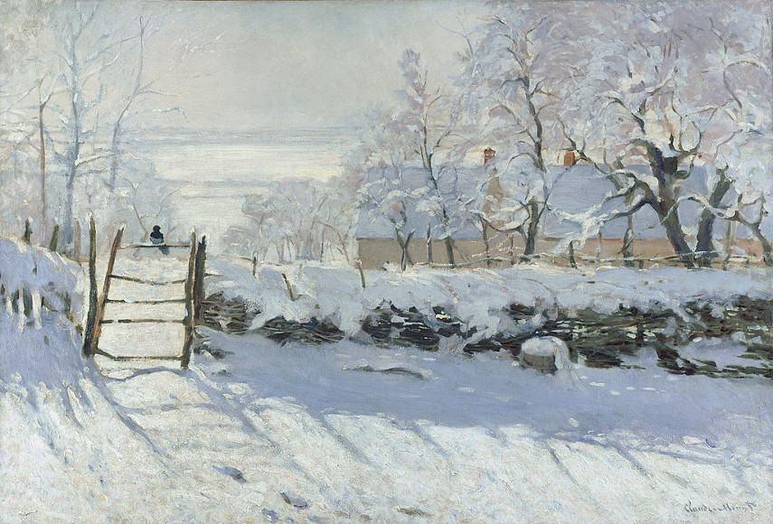 Claude Monet - The Magpie, 1868