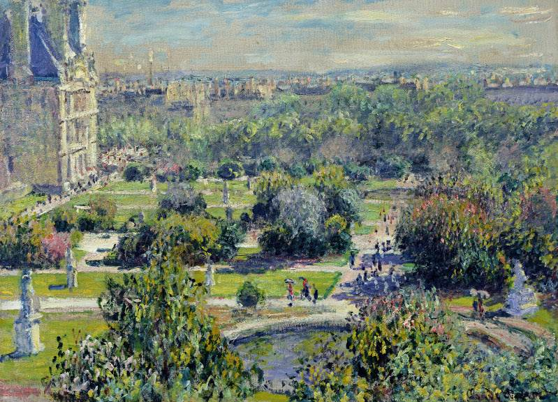 Claude Monet - The Tuileries