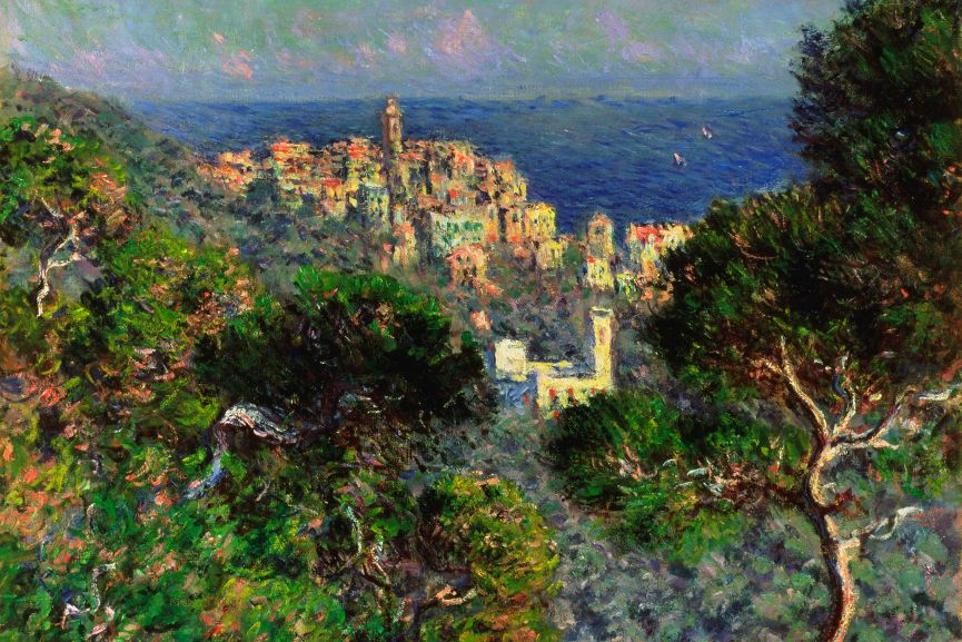 View of Bordighera (Vue de Bordighera), 1884 © Hammer Museum, Los Angeles, CA