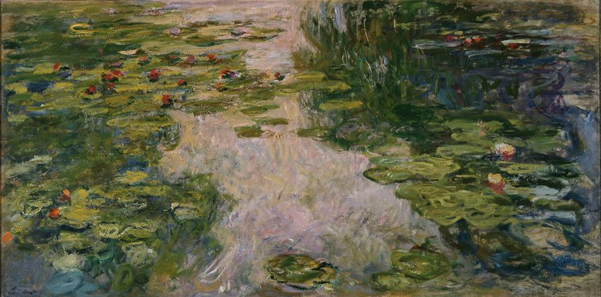 Claude Monet - Water Lilies, 1917