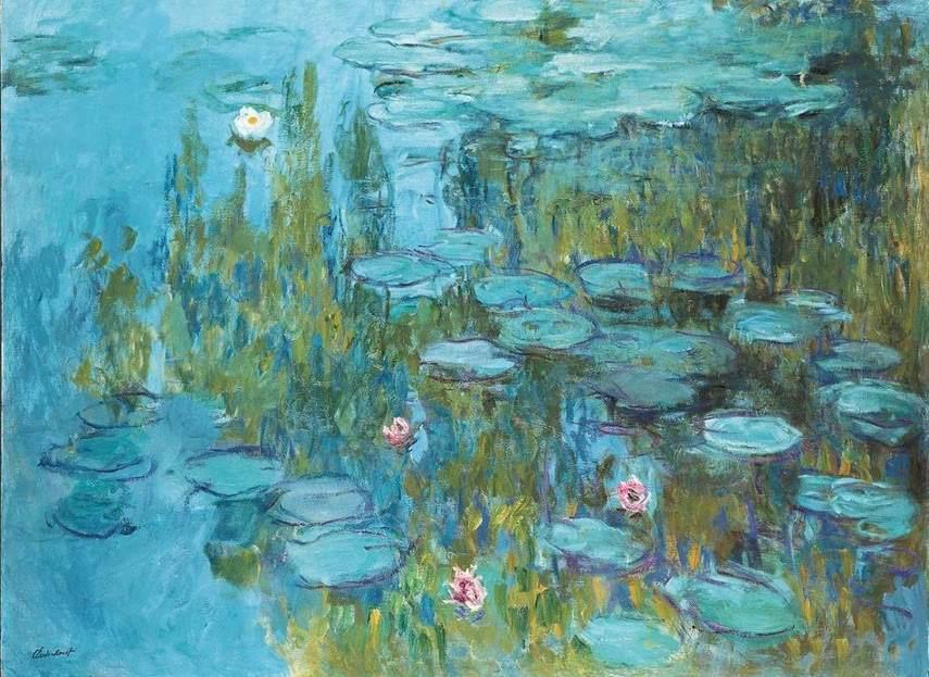 Claude Monet - Water Lilies, c. 1915