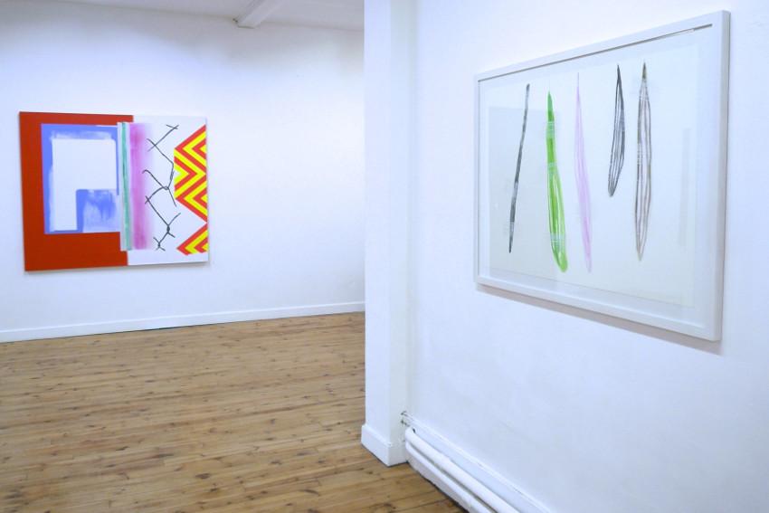 Claude Tetot - installation view at Galerie Bernard Ceysson, Saint-Etienne, 2014