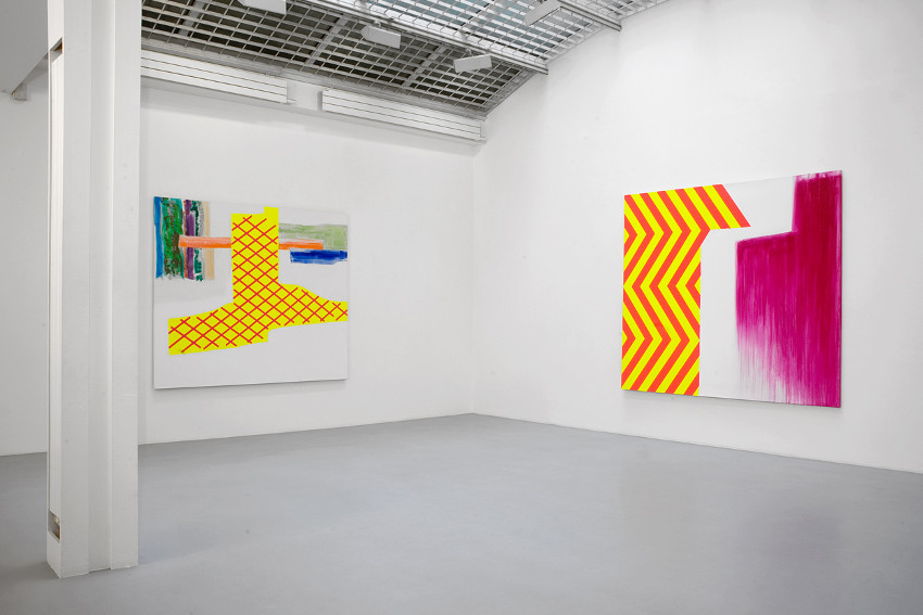 Claude Tetot - installation view at Galerie Jean Fournier, Paris