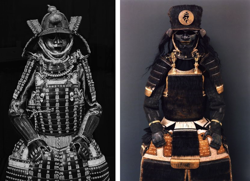 Claudia Fahrenkemper - CC 01-16-1 Courtesy DenysEyre Bower Bequest at Chiddingston Castle, UK, 2016, Claudia Fahrenkemper - B 25-18-2 Courtesy Samurai Art Museum –Collection Janssen, Berlin, Germany,2018