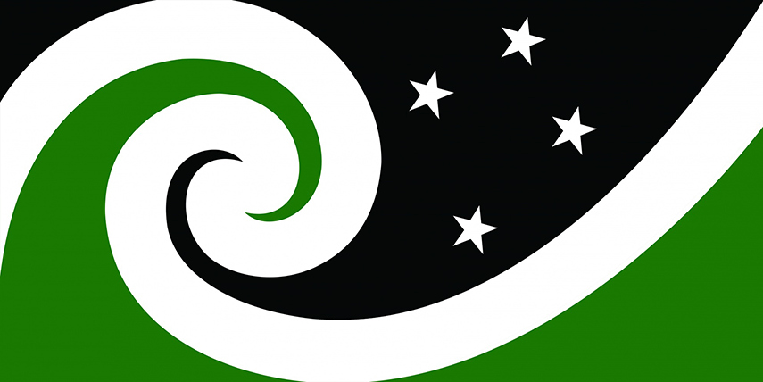 New Design southern cross twitter New Zealand Flag 2015