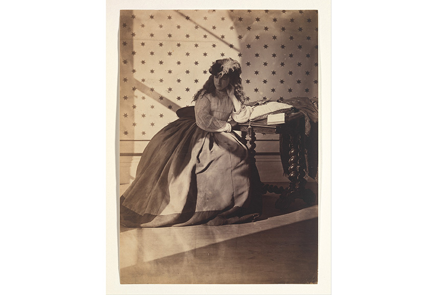 Clementina Hawarden - Photographic Look Taken Study; Daguerreotype was used for the dead, when, in the case of death, a post mortem image of the deceased was taken