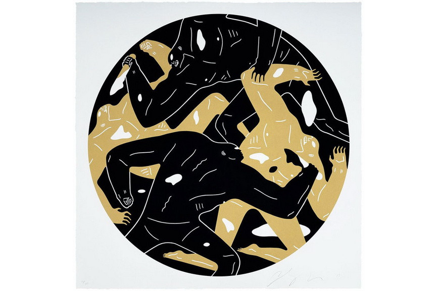 Cleon Peterson - Out Of Darkness II Black