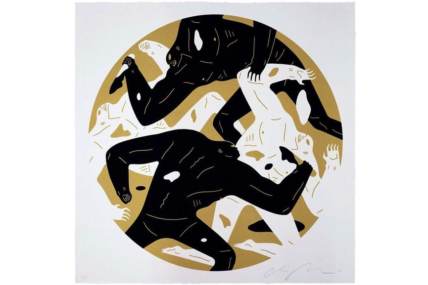 Cleon Peterson - Out of the Darkness (Gold)