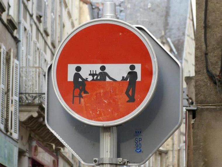 Clet italy florence night traffic public city graffiti street art posts years love