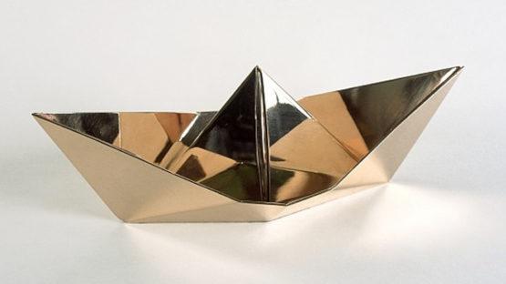 Clive Barker - Origami Boat - 2010