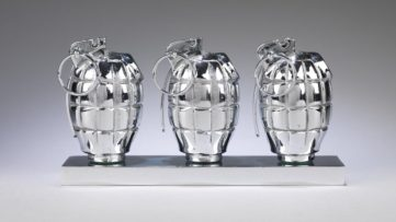 Clive Barker -Three Hand Grenades