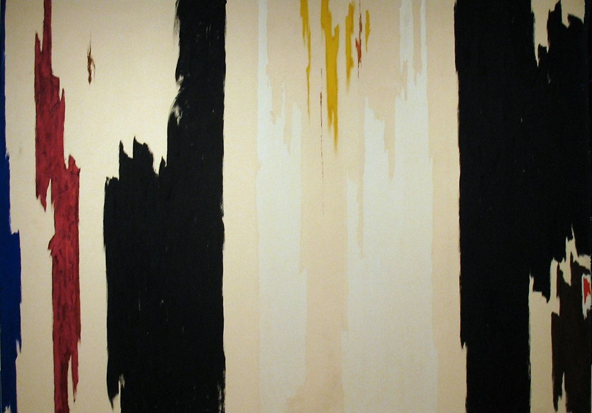 Clyfford Still - PH-174, 1960 - Image via sartlecom