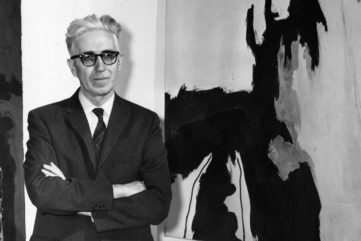 Clyfford Still - Photo of the author - Imaga via clyffordstillmuseumorg work school