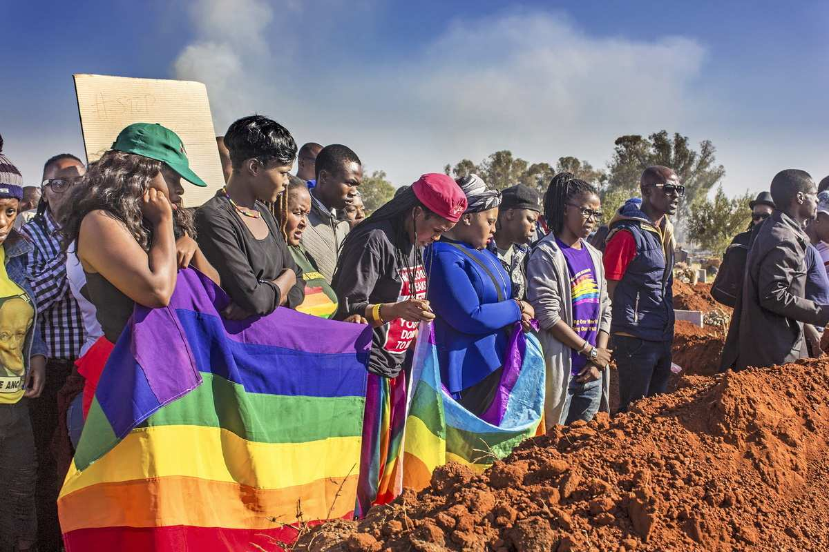 Collen Mfazwe - LGBTI Community Showing Their Respect for Their Fallen, 2017
