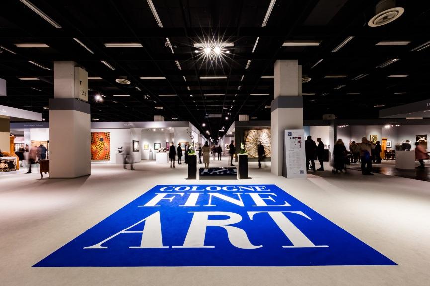 Cologne Fine Art 2017 - Image via gildensartscom