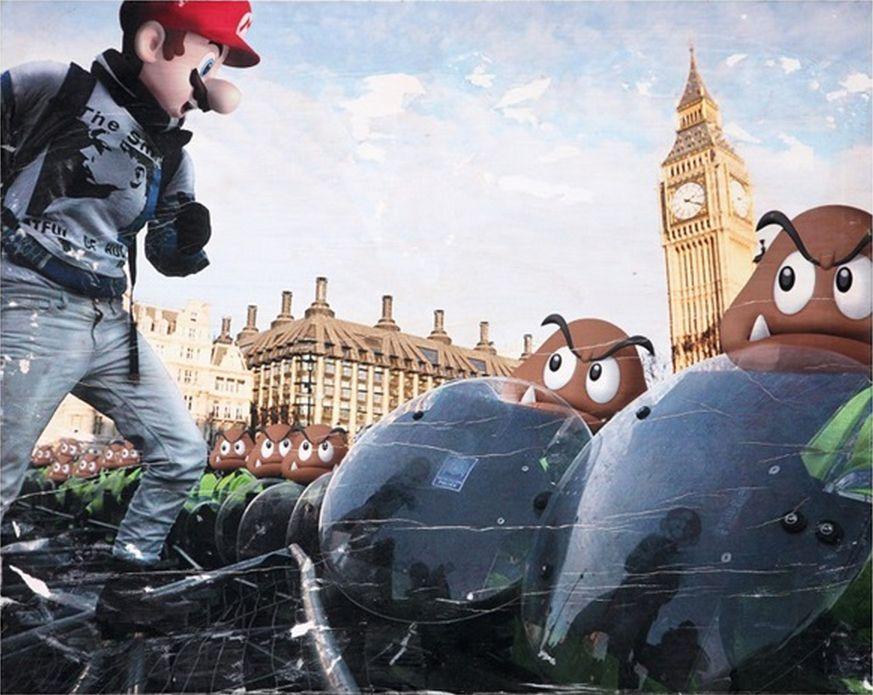 Combo-Mario Riot-2012