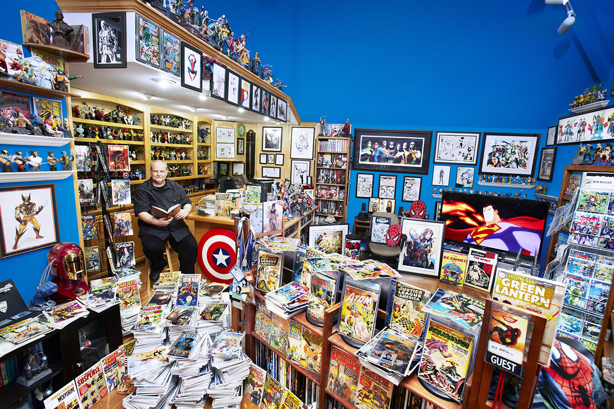 Comic Book Art Collecting