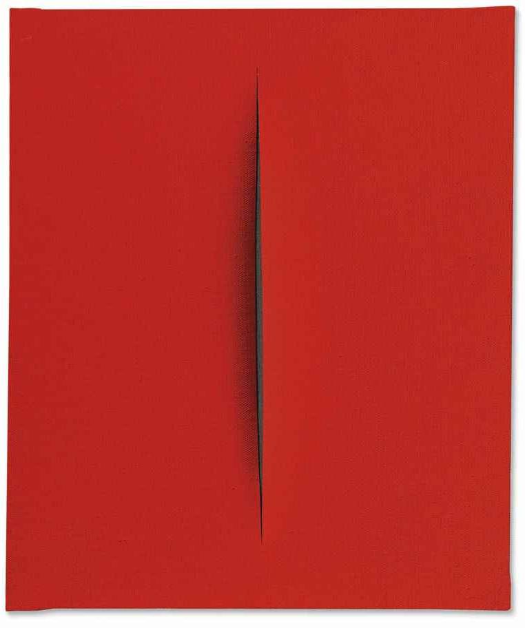 Lucio Fontana-Concetto spaziale, Attese-1964