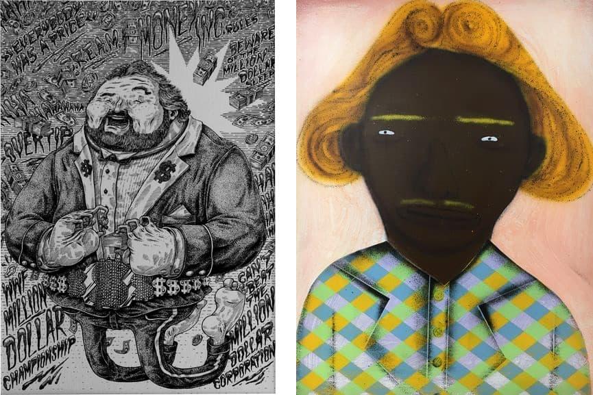 Cone The Weird - The Million Dollar Man, 2014, Os Gemeos - Rolando Escadabaixo, 2012
