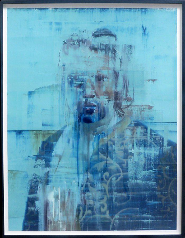 Conor Harrington-Blue Study-