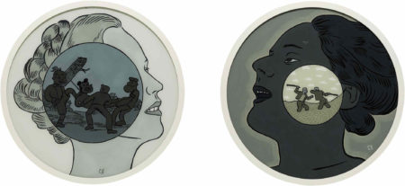 Conrad Botes-Two works: (i) Untitled; (ii) Untitled-