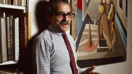Conroy Maddox - photo by Mark Gerson - 1987 - © Mark Gerson