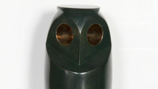 Constantin Antonovici - Owl III, 1947 (detail)
