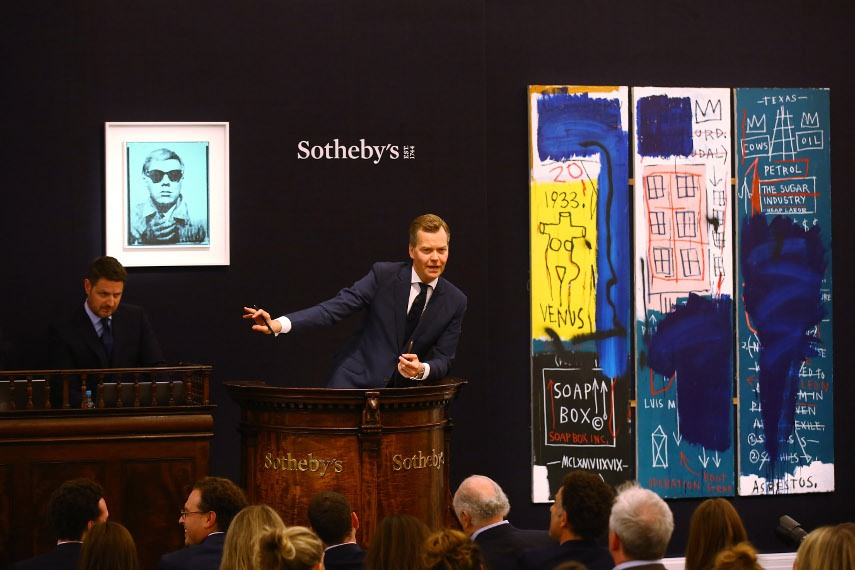 Contemporary Art Evening Sale at Sotheby's