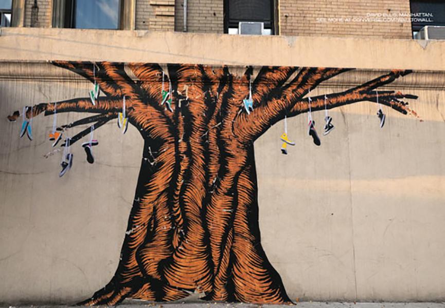 street art ads