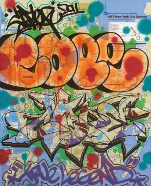 Cope2-New York City Subway 2-2011