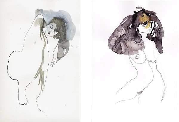 Corine Pagny - Nude and Vertige