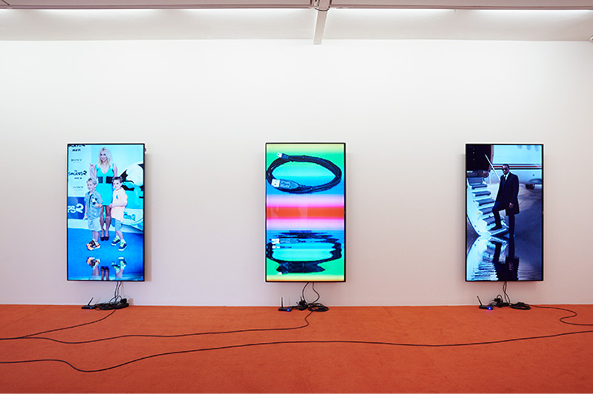 Cory Arcangel, exhibition, LIsson Gallery London