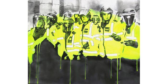 Cosmo Sarson - Riots, 2011